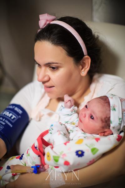 gülce bebek doğum fotoğrafları