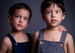 Kerem ve Kemal Stüdyo Portre Fotoğrafları